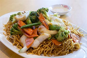 81. Vegetables Chow Mein