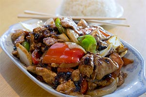 40. Chicken with Black Bean Sauce