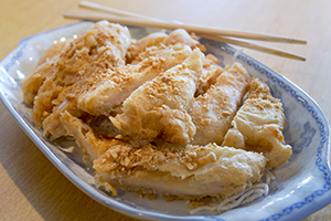 35. Breaded Almond Chicken
