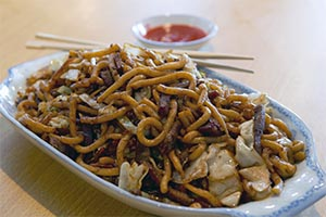 83. Shanghai Fried Thick Noodle